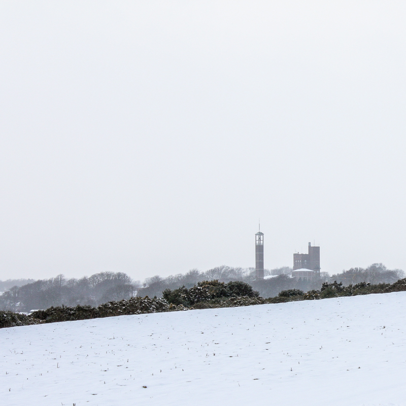 The Curragh Snowed In, February 2009