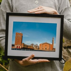 framed photo gift curragh camp water tower church